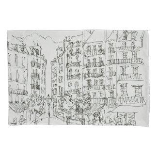 Place Dauphine, Ile de la Cite | Paris, France Pillowcase
