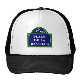 Place de la Bastille, Paris Street Sign Hat
