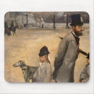 Place de la Concorde, 1875 Mouse Pad