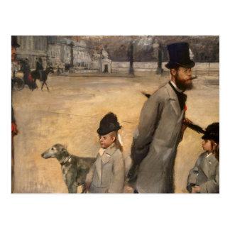 Place de la Concorde, 1875 Postcard