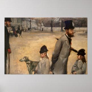 Place de la Concorde, 1875 Print