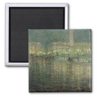 Place de la Concorde, c.1909 Fridge Magnets