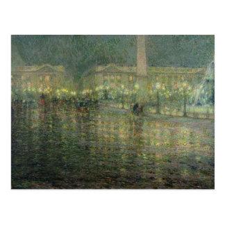 Place de la Concorde, c.1909 Postcard