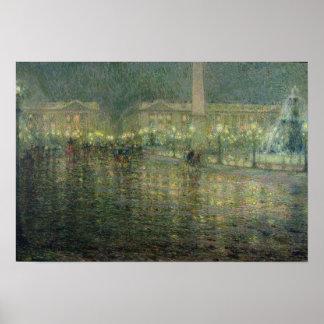 Place de la Concorde, c.1909 Posters