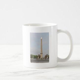 Place de la Concorde in Paris France Basic White Mug