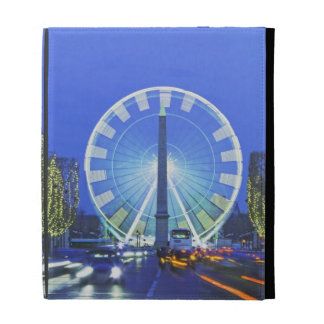 Place de la Concorde iPad Folio Case