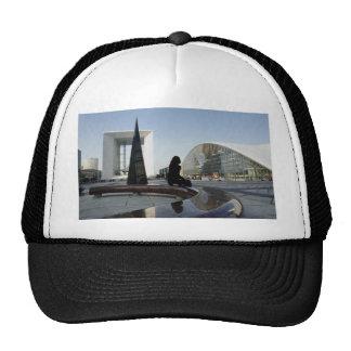 Place de la Concorde, new Arc de Triomphe, Paris, Mesh Hat