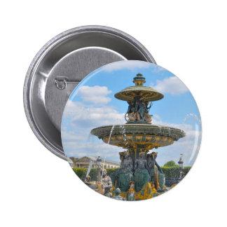 Place de la Concorde, Paris 6 Cm Round Badge