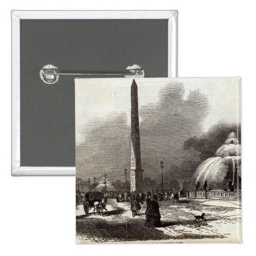 Place de la Concorde, Paris Pin