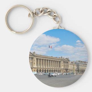 Place de la Concorde, Paris Basic Round Button Key Ring