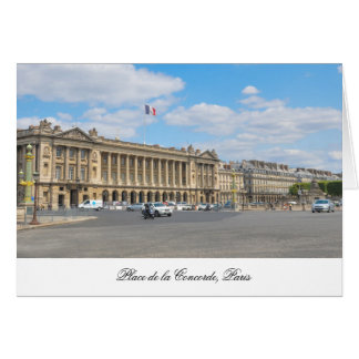 Place de la Concorde, Paris Card