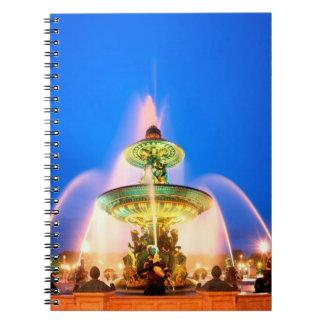 Place de la Concorde, Paris, France Notebooks