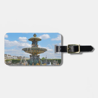 Place de la Concorde, Paris Luggage Tag