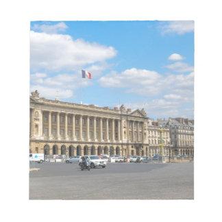 Place de la Concorde, Paris Notepad