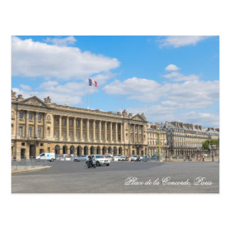 Place de la Concorde, Paris Postcard