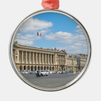 Place de la Concorde, Paris Silver-Colored Round Decoration