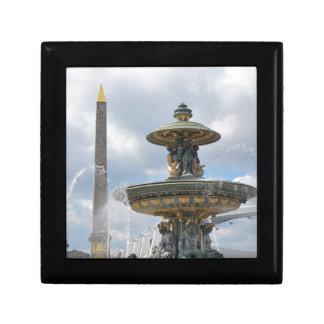 Place de la Concorde, Paris Small Square Gift Box