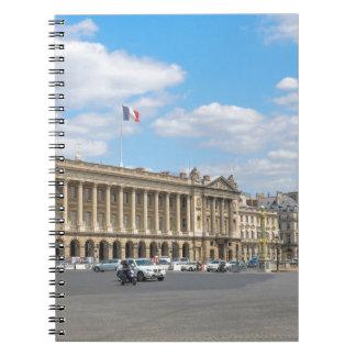 Place de la Concorde, Paris Spiral Note Books