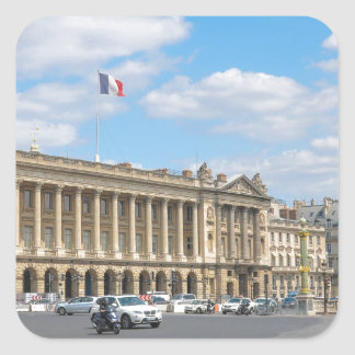 Place de la Concorde, Paris Square Sticker