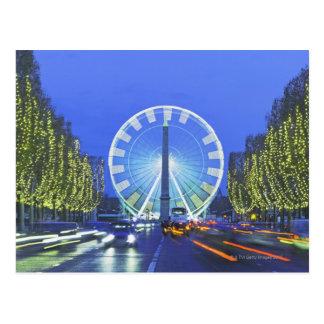 Place de la Concorde Postcard