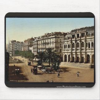 Place de la republique, Algiers, Algeria classic P Mouse Pad