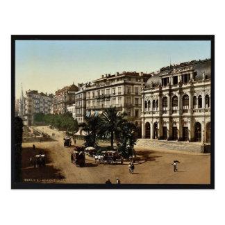 Place de la republique, Algiers, Algeria classic P Postcard