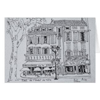 Place de L'Hotel de Ville | Aix en Provence Card