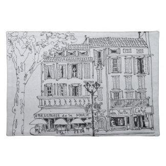 Place de L'Hotel de Ville | Aix en Provence Placemat