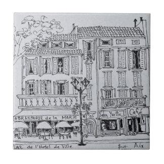 Place de L'Hotel de Ville | Aix en Provence Tile