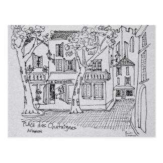 Place des Chataignes | Avignon, France Postcard
