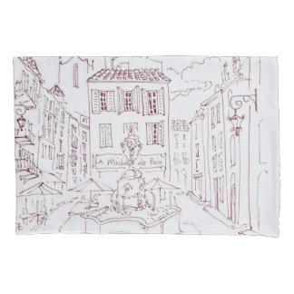 Place des Tanneurs | Aix en Provence, France Pillowcase