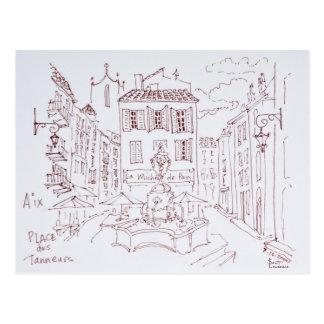 Place des Tanneurs | Aix en Provence, France Postcard