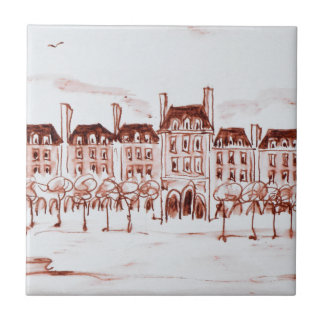 Place des Vosges | Marais, Paris Ceramic Tile