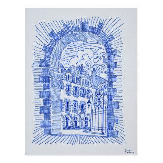 Place des Vosges | Marais, Paris, France Postcard