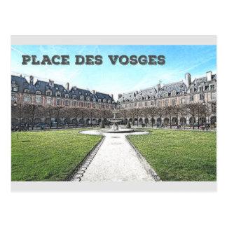 Place Des Vosges Postcard