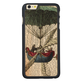 Place Du Louvre Hot Air Balloon Carved® Maple iPhone 6 Plus Case