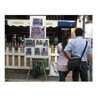 Place du Tertre Postcard