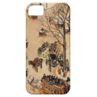 Place du Theatre Francais by Camille Pissarro Case For The iPhone 5