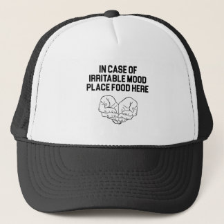 Place Food Here Trucker Hat