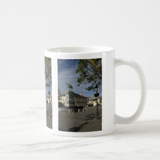 Place Guillaume II, Luxembourg Basic White Mug