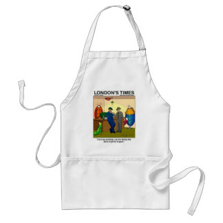 Place Is Bugged Funny Police Gifts & Tees Standard Apron
