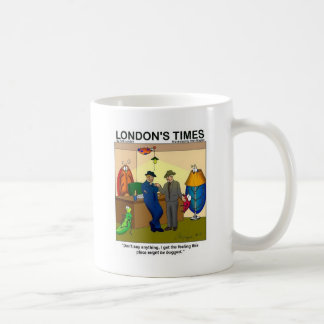Place Is Bugged Funny Police Gifts & Tees Basic White Mug