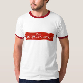 Place Jacques-Cartier, Montreal Street Sign T-Shirt