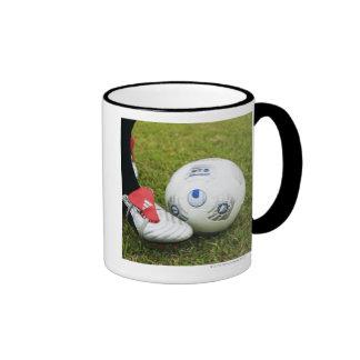 Place kick coffee mugs