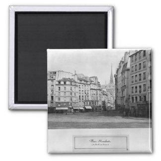 Place Maubert from the Marche des Carmes, Paris Square Magnet