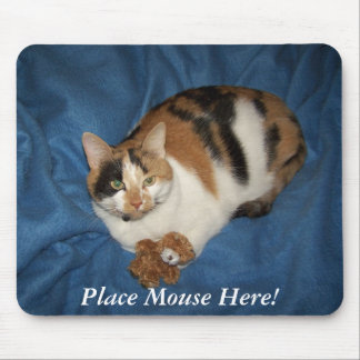 Place Mouse Here! Mouse Pad