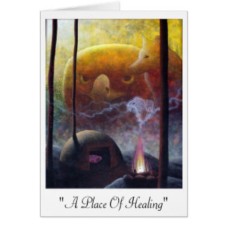 place of healing card