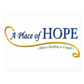 Place of Hope Logo Postcard