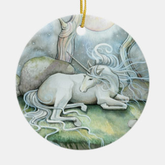 Place of Peace Unicorn Ornament