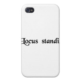 Place of standing iPhone 4 cover